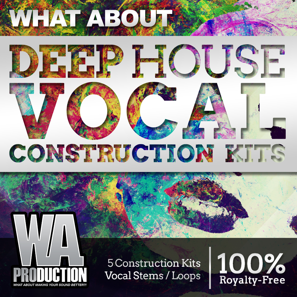 What about deep house vocal construction kits for Classic house vocal samples