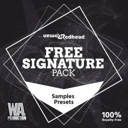 Redhead Roman: Free Signature Pack