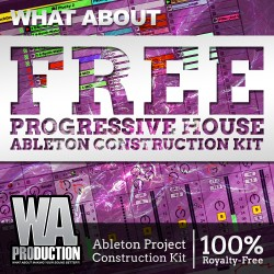 What About: Free Progressive House Ableton Construction Kit