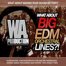 What About: Big EDM Orchestral Lines