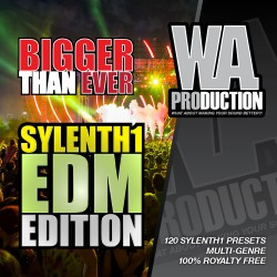 Bigger Than Ever: Sylenth1 EDM Edition