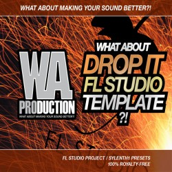 What About: Drop It FL Studio Template