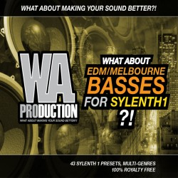 What About: EDM Melbourne Basses For Sylenth1