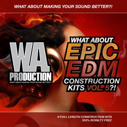 What About: Epic EDM Construction Kits Vol 5