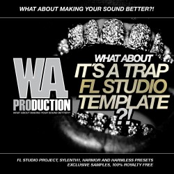 What About: It´s A Trap FL Studio Template