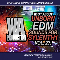 What About: Unborn EDM Sounds For Sylenth1 Vol 2