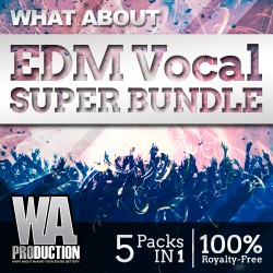 What About: EDM Vocal Super Bundle