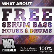 What About: FREE Serum Bass House & Drums