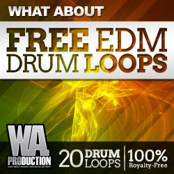 What About: Free EDM Drum Loops