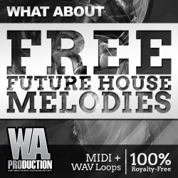 What About: Free Future House Melodies