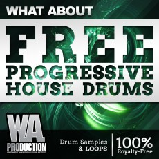 What About: Free Progressive House Drums