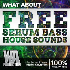 What About: FREE Serum Bass House Sounds
