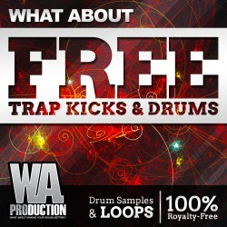 What About: Free Trap Kicks & Drums