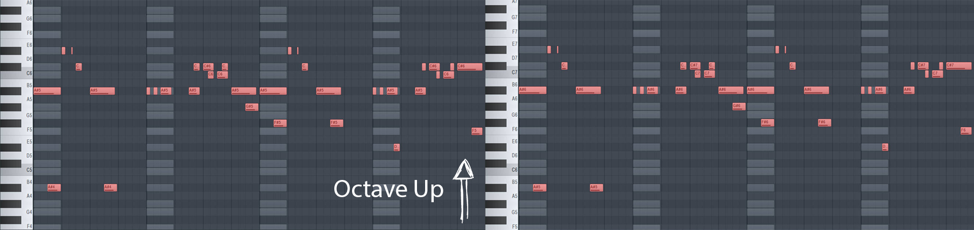 how to change key of song in fl studio