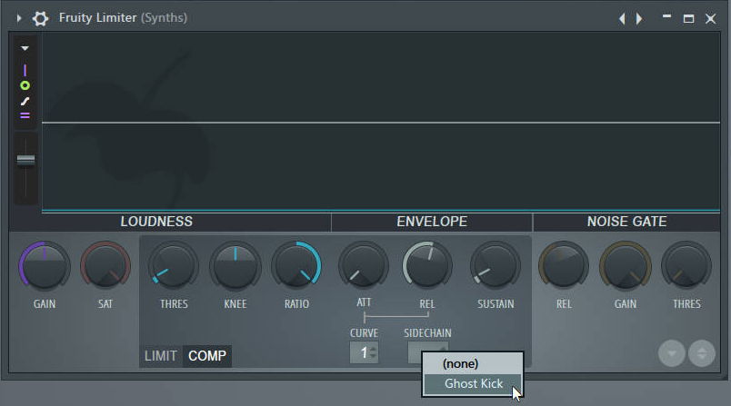 Fruity Limiter Plugin