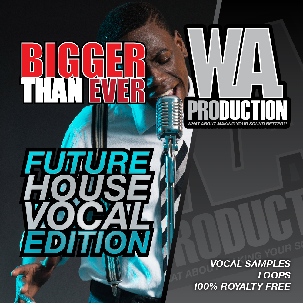 Bigger Than Ever Future House Vocal Edition