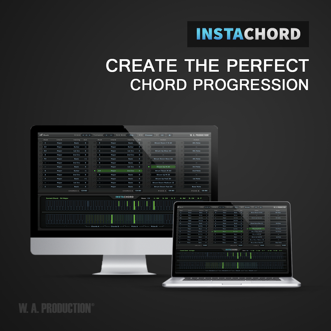 Instachord Midi Processing Plugin Gearslutz Portable Live Sound Setup Pro Audio Community We Bring You A That Helps Play Chords And Chord Progressions In Very Simple Way